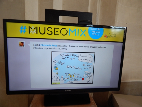 #museomixleman,#museomix,mah,geneve,suisse,christelle fritz facilitateir graphique