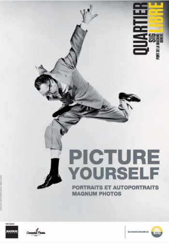 steve mccurry,philippe halsman;geneve,quartier libre sig,pont de la machine,picture yourself