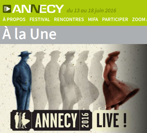 annecy 2016,festival international du film d'animation d'annecy
