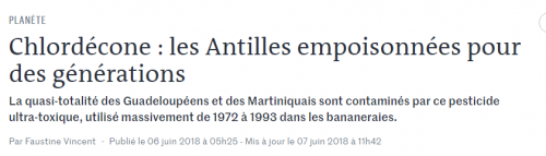 antilles,bananes,#inserm,pascal #blanchet,intoxication #écologie,guadeloupe,martinique,chlordécone,#macron,macron stigmatise,victorin lurel,#lurel,luc multigner