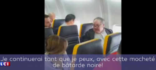 #racisme,#scandale,david lawrence,#ryanair,vol barcelone-londres,uk,témoin citoyen,citoyen responsable