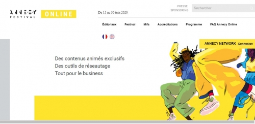 #annecyfestival,festival d'animation d'annecy,mickael #marin,animation en ligne,15 euros seulement,#mifa