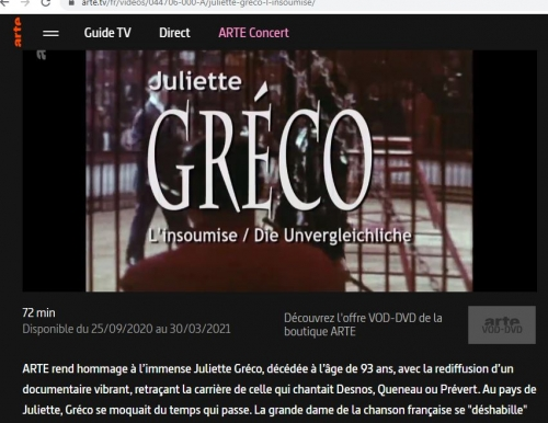 juliette #gréco,#chanteuse,#germanopratin,#france,miles davis,brel,queneau,sagan,sartre,saint-germain des près